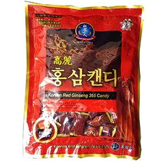 Made of an extract of well grown redk ginseng roots. The mixture of extracts and powder is a well grown red ginseng roots. You can feel the native aroma and astringent taste of ginseng with a touch. Good for refreshment while driving and jogging. Efficacy of Ginseng Candy -Boost the Immune System and Boost Energy and Stamina. Size : 500g