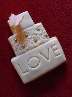 Wedding Cookies by bassettsfarm, via Flickr