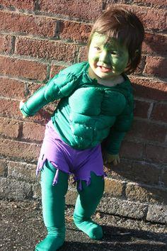 Homemade hulk costume handmade halloween costumes pinterest 12 diy superhero costume ideas for kids solutioingenieria Choice Image