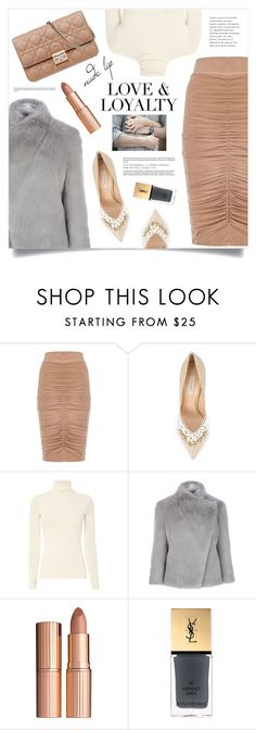 """""""You make me feel like I am whole again …"""" by marina-volaric ❤ liked on Polyvore featuring beauty, mel, Casadei, Twenty, Christian Dior, Ted Baker, Charlotte Tilbury, Yves Saint Laurent and nudelip"""