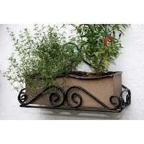 jardinera de hierro para ventanas - Buscar con Google