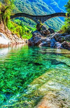 VALLE VERZASCA SWITZERLAND