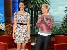 Anybody see Jen on Ellen?