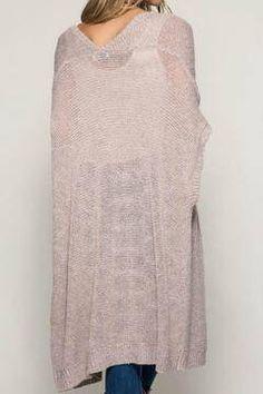 Shoptiques Product: Rose Knit Cardigan