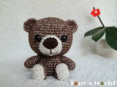 Ravelry: Marcell Teddy pattern by Marina Bellai