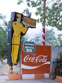 ROADSIDE CAFE SIGN, c2006