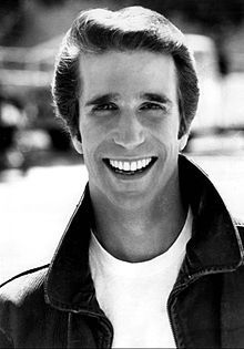 Shakespeare took center stage in the Happy Days episode A Star is Bored, in which the Fonz, at first reluctantly, plays Hamlet.