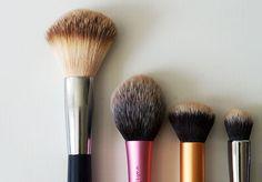 Favorite Makeup Brushes - Real Techniques, Nilens Jord, Zoeva and Mac