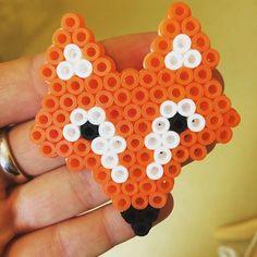 Fox hama beads by einfachsasi