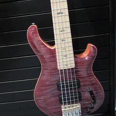 @bassmusicianmag @prsguitars, #bassguitar #electricbass #custombass #badassbass #bassporn #bassmusicianmag #namm #namm2017 #BassMusicianMag