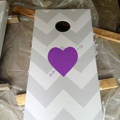 chevron cornhole boards for my wedding.
