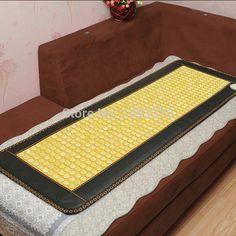 2015 Hot Natural Heat Jade Sofa Cushion Physical Therapy Mat Pad Heat 10 70  Celsius