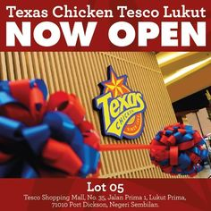 25-29 Feb 2016: Texas Chicken New Opening