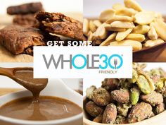 Rock your Whole30. We've taken our favorite Whole30 friendly products and curated a collection of foods that will help you on a Whole30, or help you with focusing on clean, nutrient dense snacks and protein for those on the go.