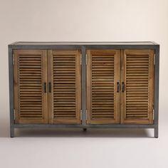 Double Shutter Doors Holbrook Sideboard | World Market