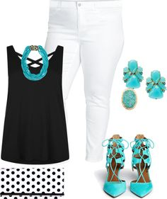 plus size summer yacht party/make it pop by kristie-payne on Polyvore featuring Two by Vince Camuto, Aquazzura, Wilsons Leather, Kate Spade, Kenneth Jay Lane and Ileana Makri