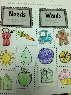 The Adventures of a First Grade Teacher: Economics Fun