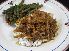 Slow cooker pork char sui