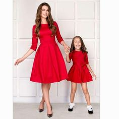 Kids Child Outfits Mother Daughter Dresses Clothes Mom Dress Mum Sister Baby Girl Dresses Mommy And Daughter Family Matching – fashion Mommy And Me Dresses, Mommy And Me Outfits, Mom Dress, Baby Girl Dresses, Kids Outfits, Dress Red, Mother Daughter Matching Outfits, Mother Daughter Fashion, Matching Family Outfits