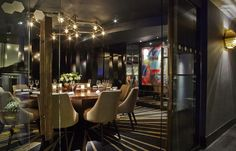 Giovanni private dining room at Quaglino's in St James's London