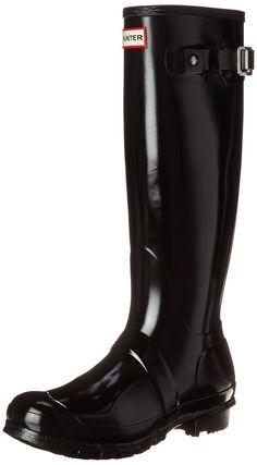Hunter Original Tall Gloss W23616 Damen Gummistiefel: Hunter: Amazon.de: Schuhe & Handtaschen