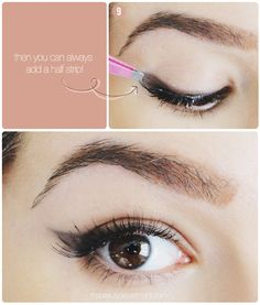 Sometimes a little smoked wing is all you need! Who says a cat eye has to be done with liquid liner? This soft version is ultra-feminine and flirty and a very modern take on a retro look. And for those of you who are still intimidated by liquid liner, this is a perfect way to […]