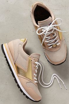Brooks Coffeehouse Chariot Sneakers #anthropologie