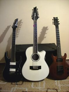 FS 3 x Ibanez LACS Rusty Cooley, 14 string acoustic) Guitars For Sale / Trade / Wanted Acoustic Guitar For Sale, 12 String Guitar, Guitars For Sale, Ibanez, Music Stuff, Music Instruments, Bass, Electric, Musical Instruments