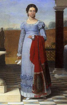 """""""Colette Versavel"""" detail, Joseph Francois Ducq, 1822"""