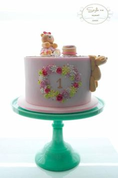 Teddy+picnic++-+Cake+by+Style+me+Sweet+CAKES