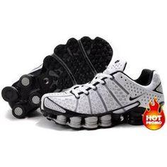 http://www.asneakers4u.com/ Mens Nike Shox TL3 White Black  Love these shoes!
