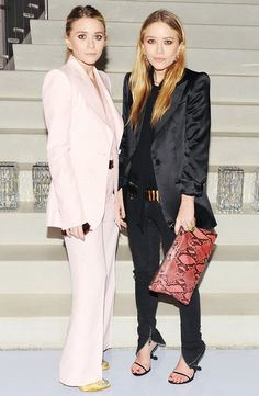 29 Brilliant Wedding Guest Outfit Ideas From the Olsen Twins via @WhoWhatWear
