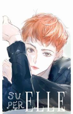 Sehun, Exo Anime, Exo Fan Art, Commercial Ads, Kpop, Chibi, Fanart, Drawings, Artwork