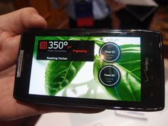 Dacor Brings Android to Your Oven:Preheating Oven
