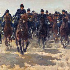George Hendrik Breitner-Cavalry