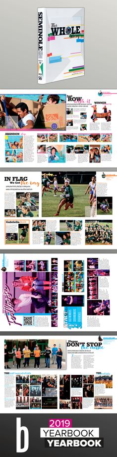 A Design Collection - Best of 2018 & Featured Balfour Yearbooks Teaching Yearbook, Yearbook Staff, Yearbook Pages, Yearbook Theme, Yearbook Spreads, Yearbook Covers, High School Yearbook, Yearbook Design Layout, Yearbook Layouts