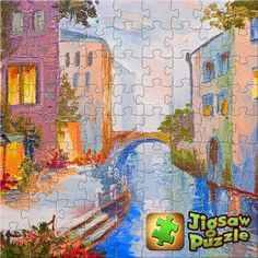 Check out the puzzle I just completed with Jigsaw Puzzle!