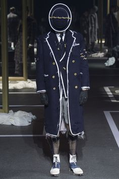 Thom Browne FW16 menswear mnswr mens style mens fashion fashion style runway thombrowne