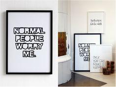 Sou fã do trabalho da designer gráfica Therese Sennerholt , seus posters são espirituosos e não há quem não tenha visto, aparecem em págin...
