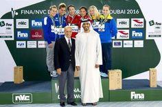 اخبار خفيفه منوعه: رئيس الاتحاد الدولي للسباحة يشيد بتنظيم دبي لموندي...