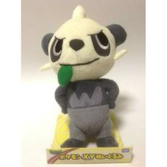 Pokemon 2013 Pancham Takara Tomy Medium Size Plush Toy