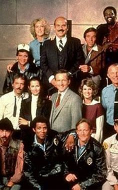 """loved this show Hill St. Blues, the original """"reality"""" cop show. It was marvelous and highly popular with the LE crowd. """"Let's be careful out there. Detective, 1980s Tv Shows, Tv Show Family, Cop Show, Tv Show Casting, Old Shows, Great Tv Shows, Vintage Tv, Classic Tv"""