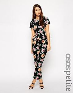 ASOS PETITE Exclusive Floral Printed Co Ord