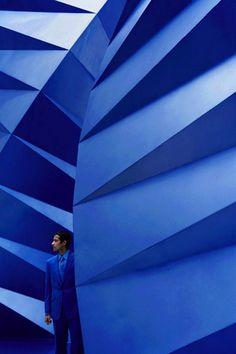 Converged Angle Wall -
