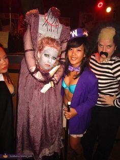 Headless Marie Antoinette - Homemade Halloween Costume