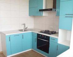 Голубая кухня в интерьере Decor, Diy Kitchen Cabinets, Kitchen Cabinets, Bedroom Closet Design, Cabinet, Home Decor, Diy Kitchen, Kitchen Design, Closet Design