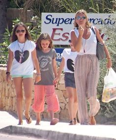 Kate Moss Vacations In Formentera With Daughter Lila | Celeb Baby Laundry