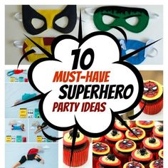 Let's talk about throwing a superhero birthday party. Face it, just about every little boydreams of becoming Batman, Spiderman or Superman at some point. So why not indulge your little one's creative mind and throw them an awesome superhero party? We have searched the Internet for the coolest...