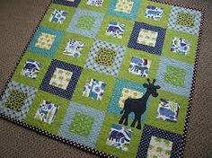 Easy Baby quilt idea!!