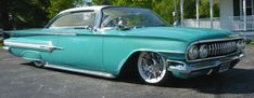 Normally not a fan of turquoise, but this one is pretty clean. love the caddy hub cap.